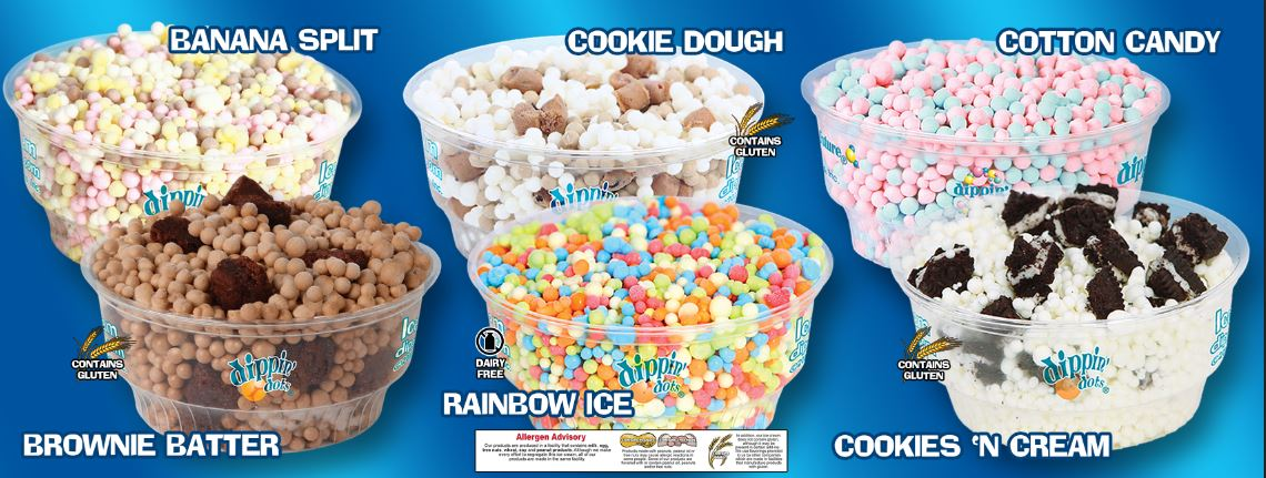 the ice cream analysis dippin dots -dippin' dots is within the top 5 of all ice cream brands on facebook-the dippin' dots brand receives nearly 5 million insights and analysis in the.