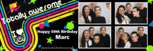 Photo Booth Strip For Birthday Party