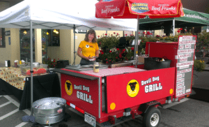 devil dog grill food truck