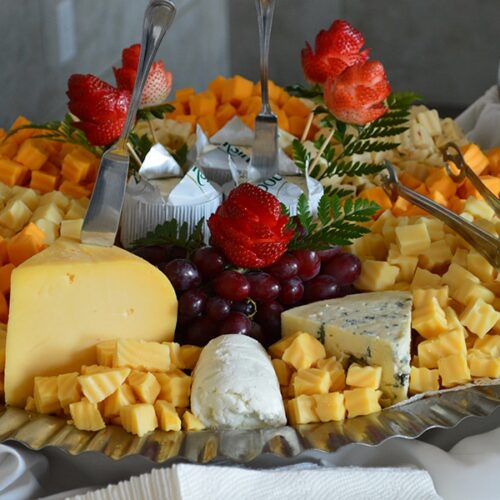Basic Cheese Display