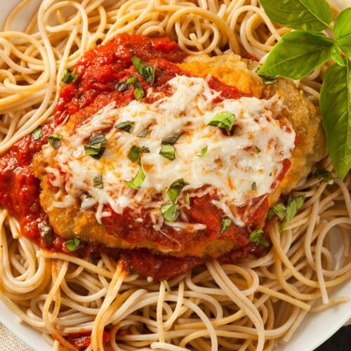 Grilled Chicken Parmesan Pasta Catering