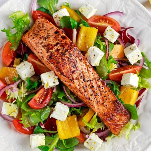 Salmon Salad Catering