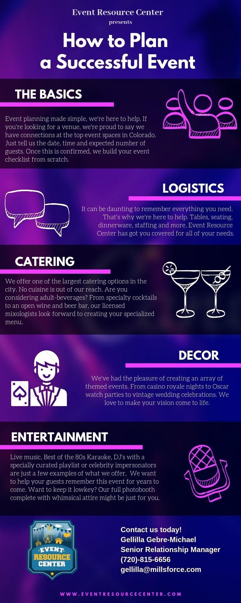 Infographic: How to Plan a Successful Event