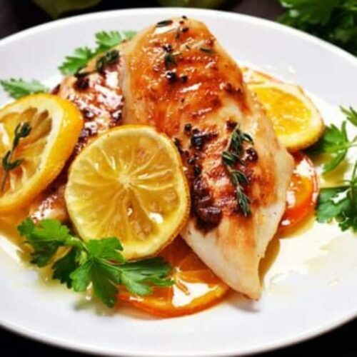 CHICKEN BREAST A L'ORANGE CATERING